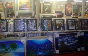 Store photo of artwork