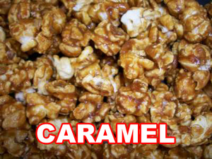 Caramel kettle corn