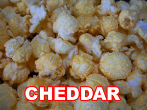 Cheddar kettle corn