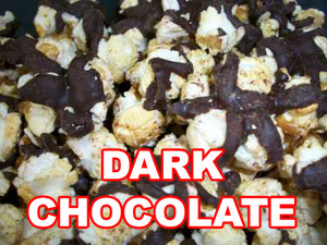 Dark chocolate kettle corn